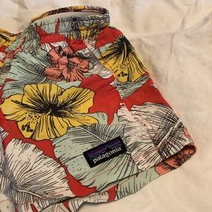 Patagonia Girls Costa Rica Shorts Size Small